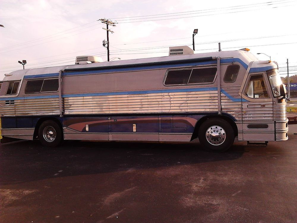 1962 Flxible Hi Level Motor Home Greyhound Bus RV Camper Conversion