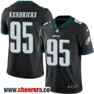 Men's Philadelphia Eagles #32 Ricky Watters Black Retired Player NFL Nike Elite Jersey