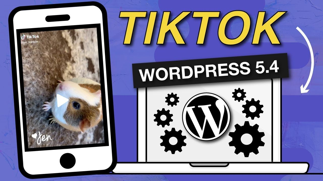How To Embed Tiktok Video In Wordpress Website Add Tik Tok Videos Wordpr Wordpress Website Wordpress Wordpress Tutorials