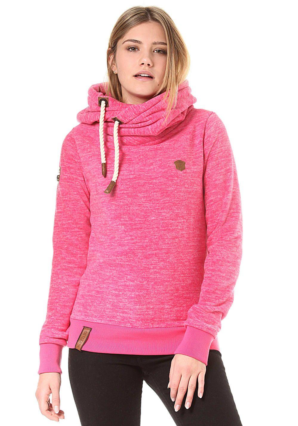 89a884478cbb Naketano Glitzermuschi - Kapuzenpullover für Damen - Pink Jetzt bestellen  unter  https   mode.ladendirekt.de damen bekleidung pullover kapuzenpullover  uid   ...