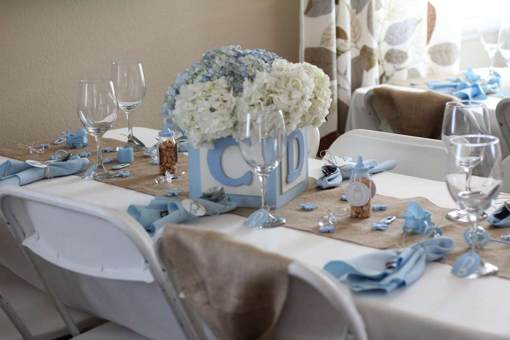 94e27df7aff Shabby Chic Boy Baby Shower Party Ideas