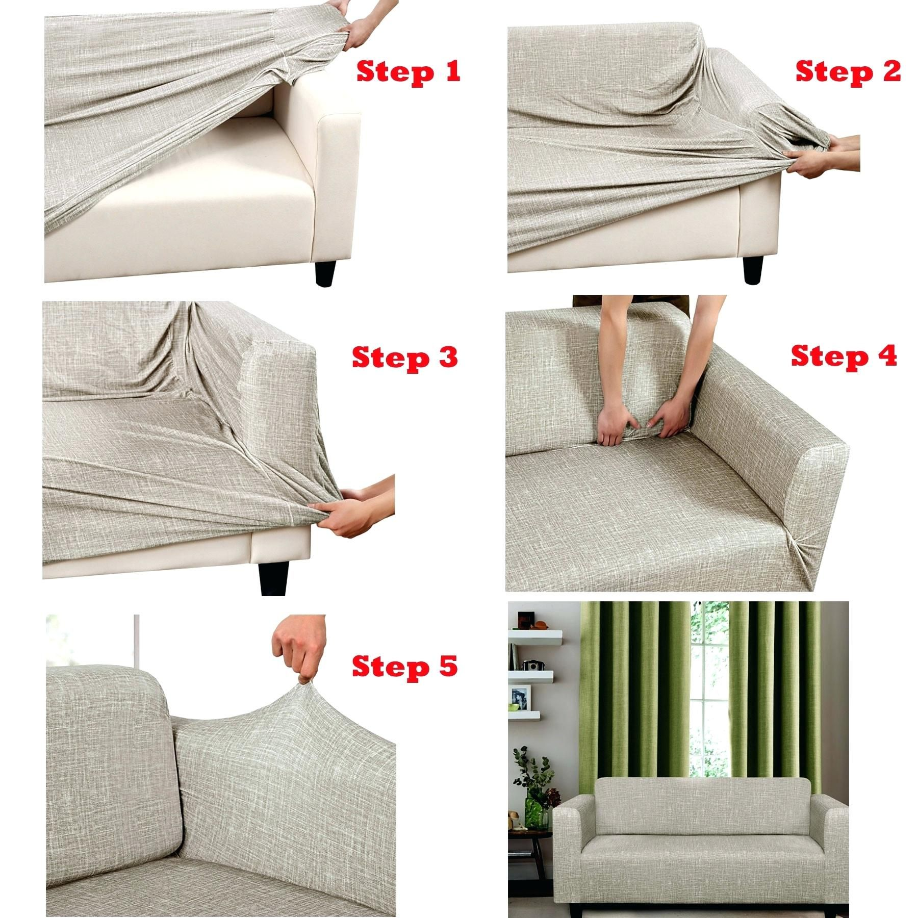 How To Make A Sofa Slipcover In 2020 Diy Sofa Cover Slipcovered