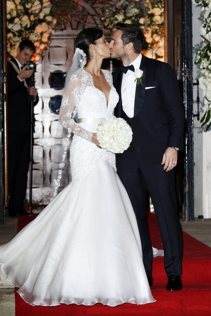 Pin for Later: See Photos of Christine Bleakley and Frank Lampard's Romantic Winter Wedding