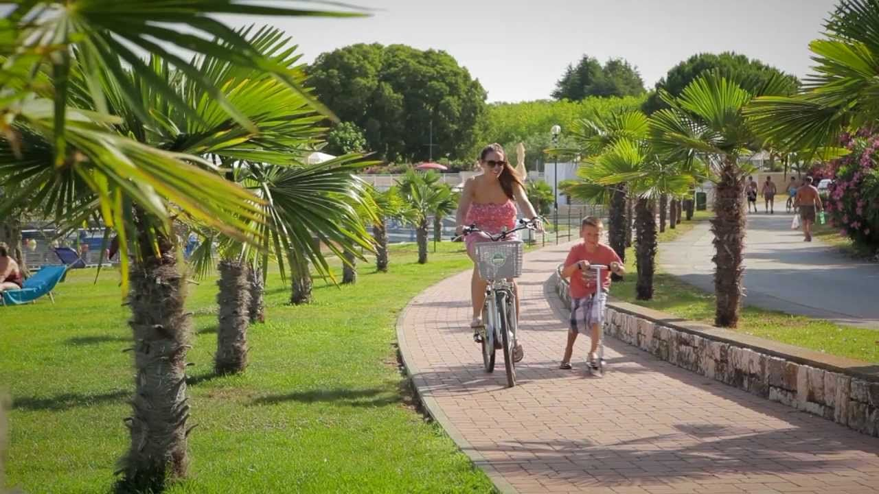 Camping Zelena Laguna **** video summer travel