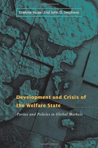 Development and Crisis of the Welfare State: Parties and Policies in Global Markets by Evelyne Huber. $22.50. Publisher: University Of Chicago Press; 1 edition (September 1, 2001). Author: Evelyne Huber. Edition - 1. Publication: September 1, 2001