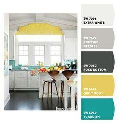 Image Result For Kitchen Color Palette