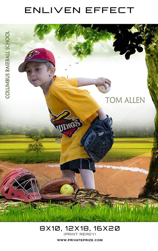 Tom Columbus Baseball School Sports Template - Enliven Effects ...