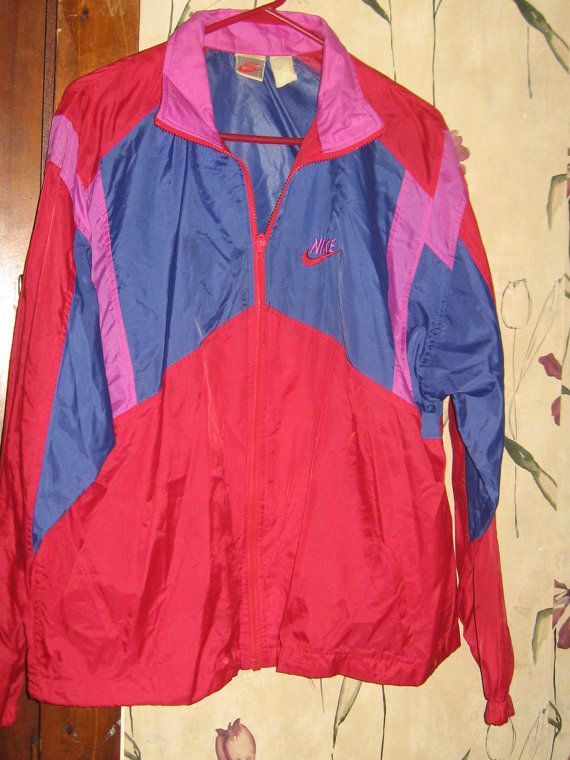 Vintage 80s Retro Nike Windbreaker Jacket by UnexpectingItems ... cd95594d6