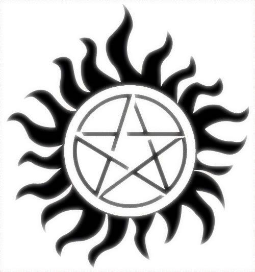 Kinda want the Supernatural anti possession tattoo   Tattoo