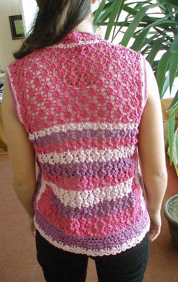 Chaleco primaveral con lana Balitex