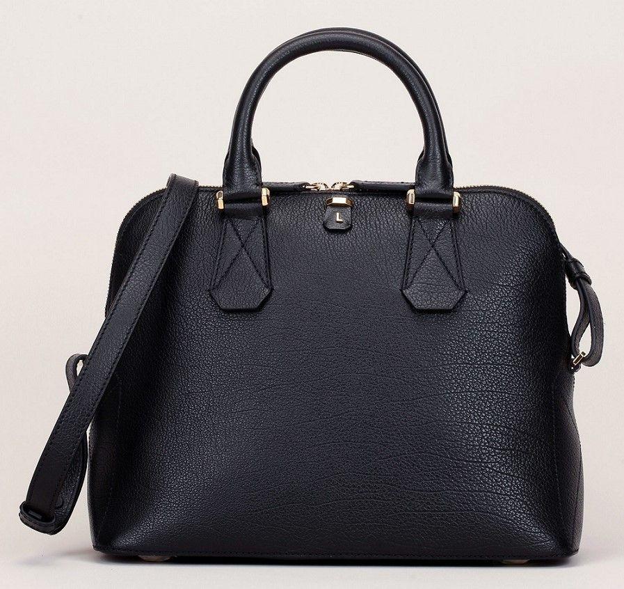 chaussures exclusives célèbre marque de designer joli design Lancel Sac à main Maxime de Lancel en cuir grainé noir ...