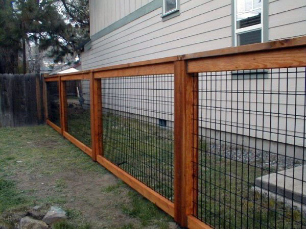 Top 60 Best Dog Fence Ideas Canine Barrier Designs Fence