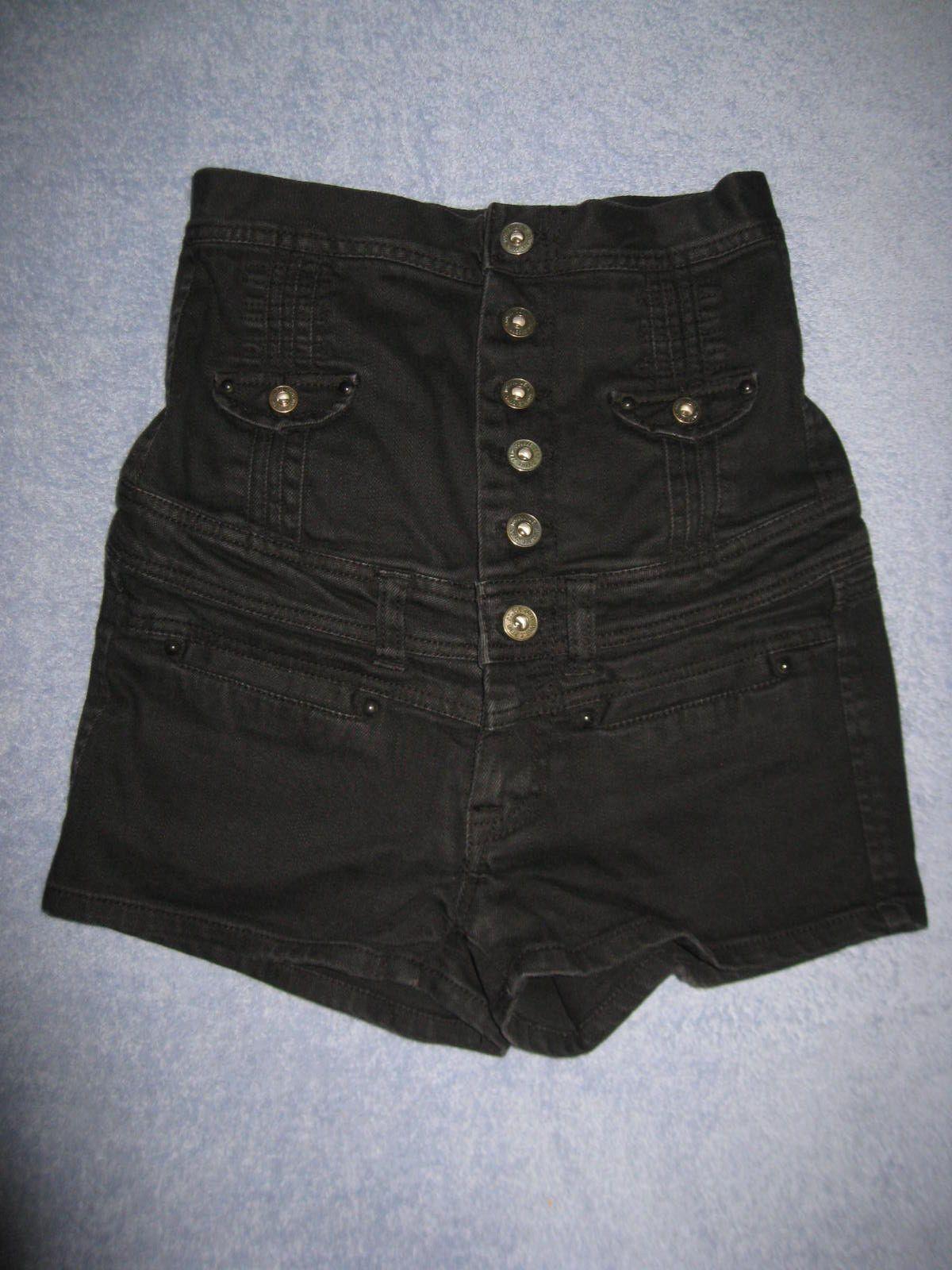 Double Zero Super High Waisted Denim Short Shorts S | Short shorts ...