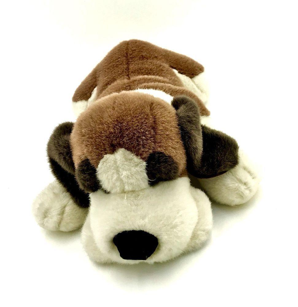 Russ Berrie Dog Barrels Large Beanie Plush Soft Toy Stuffed Puppy Teddy Kids Vgc Toys Soft Toy Teddy [ 1000 x 971 Pixel ]