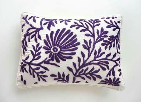 Almohada dibujos vegetales