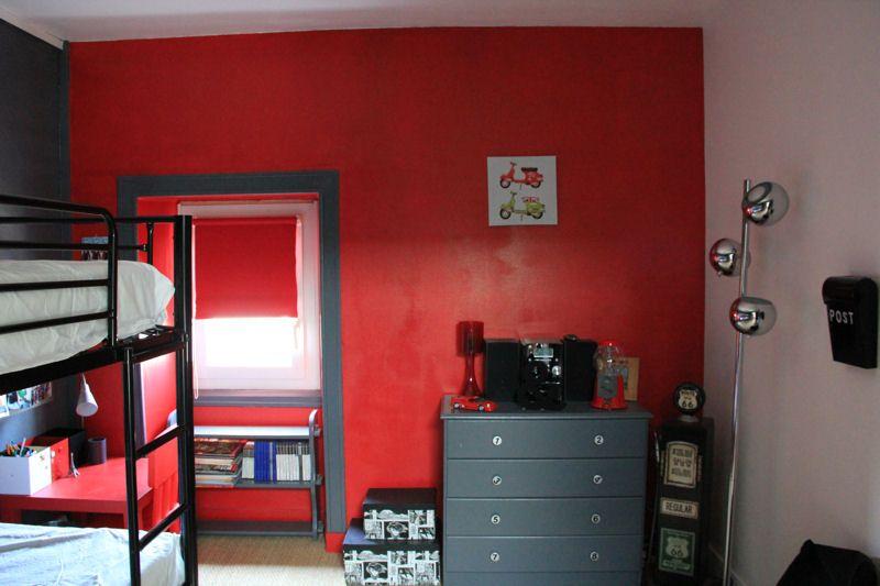 1000 images about peinture chambre ado on pinterest - Chambre Rouge Et Noir