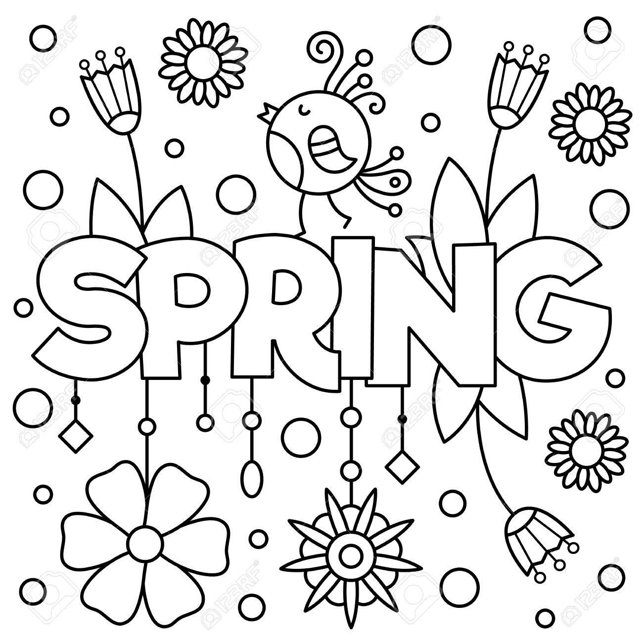 47+ Crayola free coloring pages spring information
