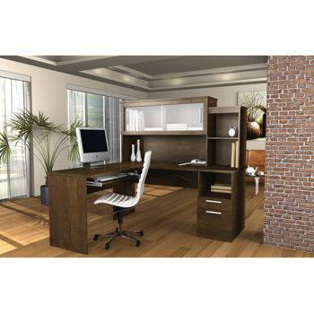 Costco Sutton L Shaped Desk L Shaped Desk Contemporary Office