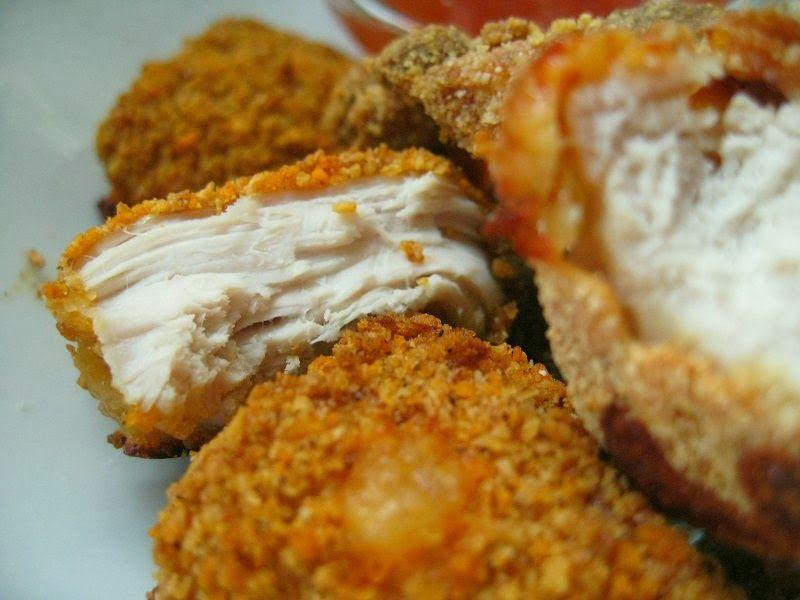 Safkablogi: Kananugetit (itse tehty & uunissa paistettu)
