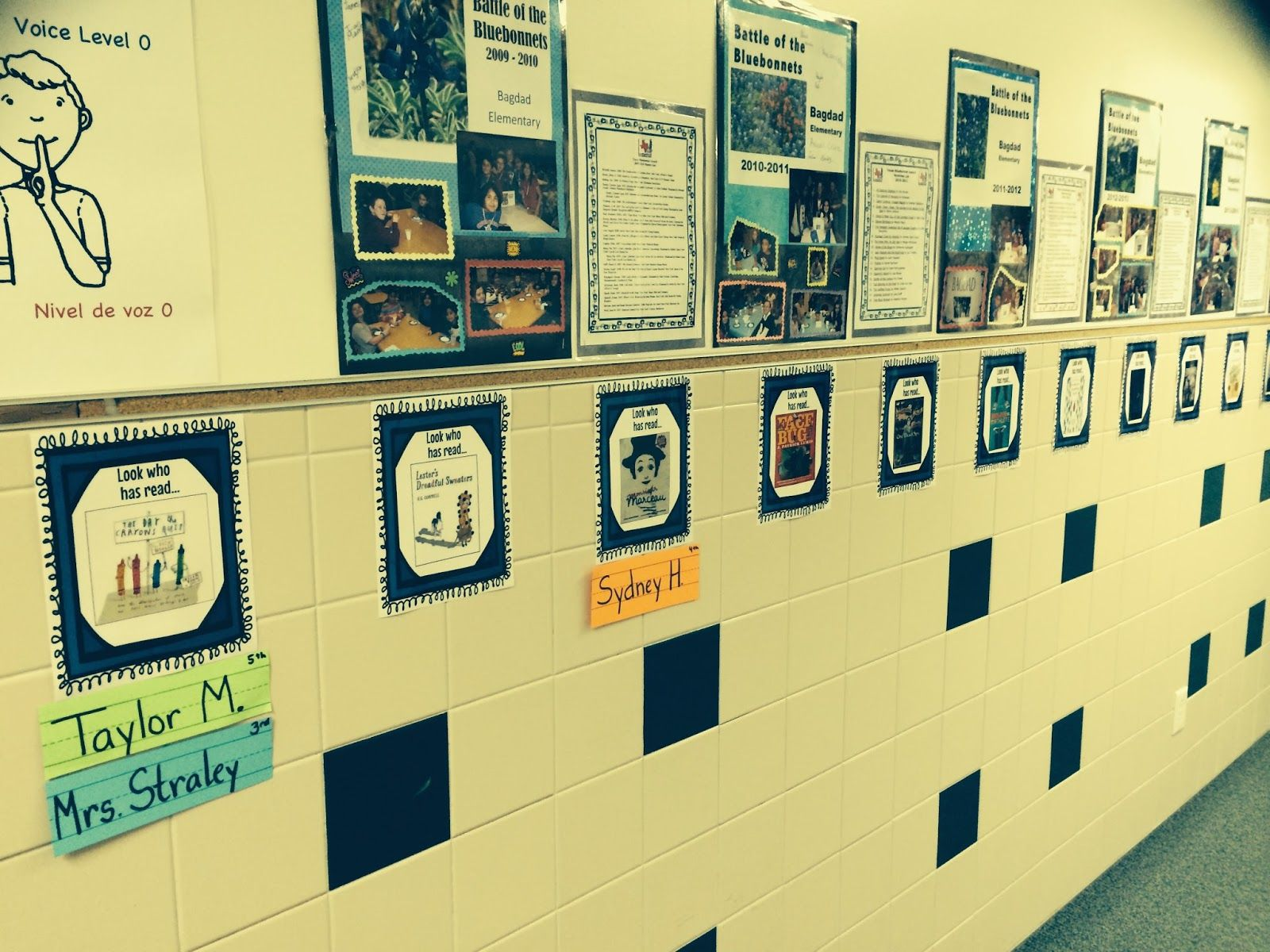 The Book Fairy-Goddess: Bluebonnet Wall of Fame. Students add their ...