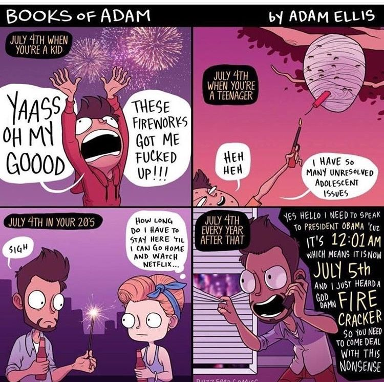 Pin by Gina Gabriele on Amusing! Fun comics, Adam ellis