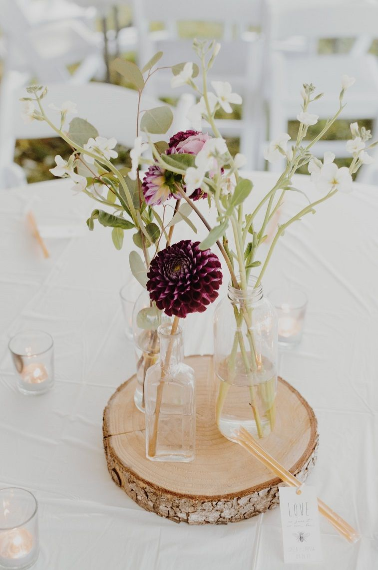 100 Rustic Wedding Centerpiece Ideas - Fabmood | Wedding Colors ...