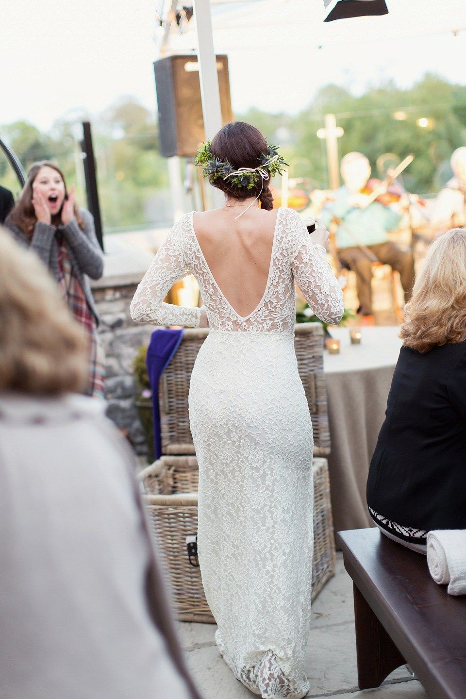 A Marchesa Gown for a Fairy Tale Celtic and Jewish Fusion Wedding in ...