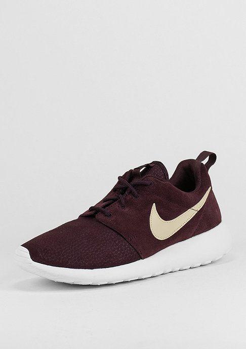 Nike Laufschuh Roshe Run Suede Bordeaux Laufschuhe