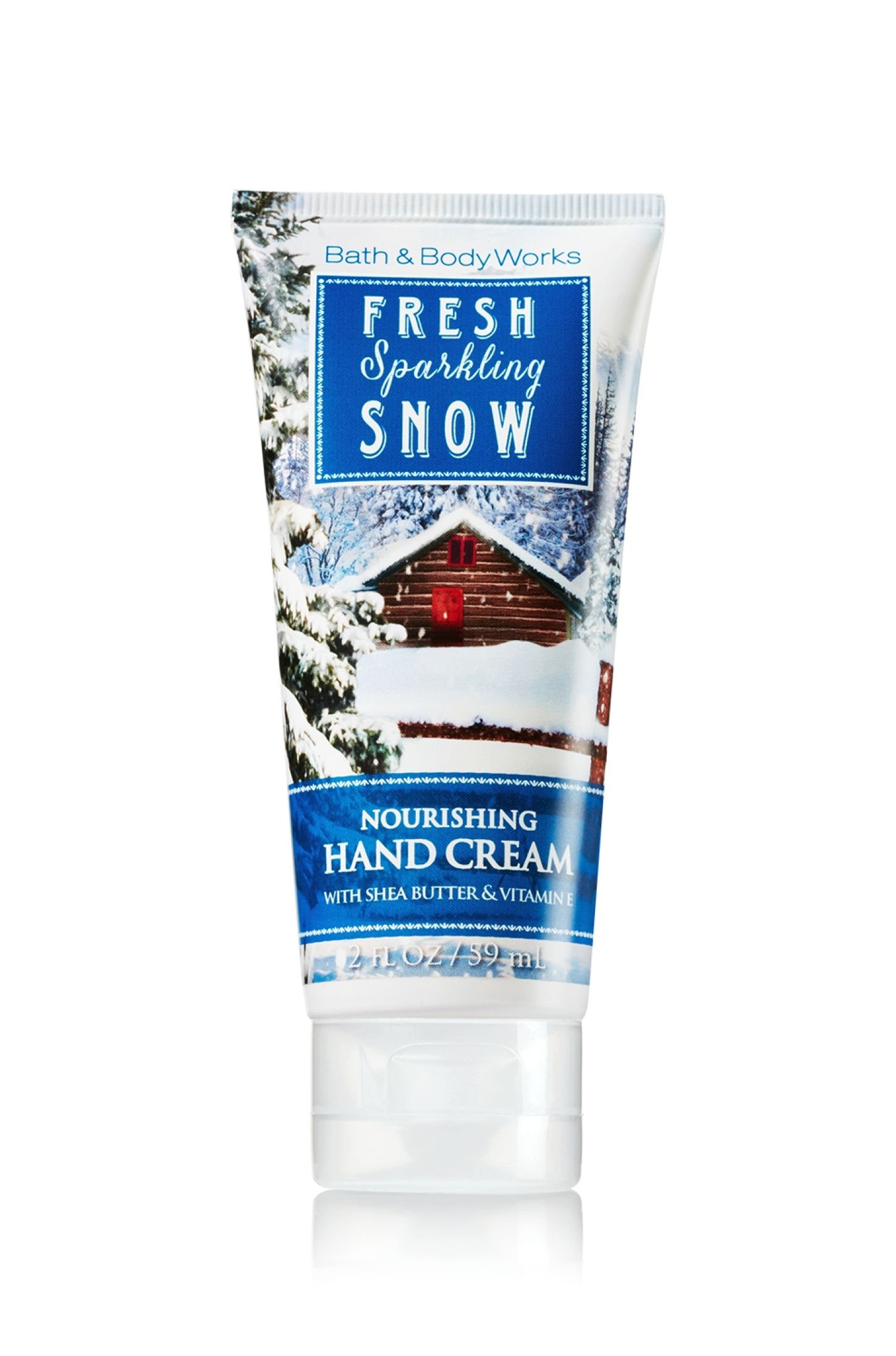 Fresh Sparkling Snow Nourishing Hand Cream Soap Sanitizer Bath