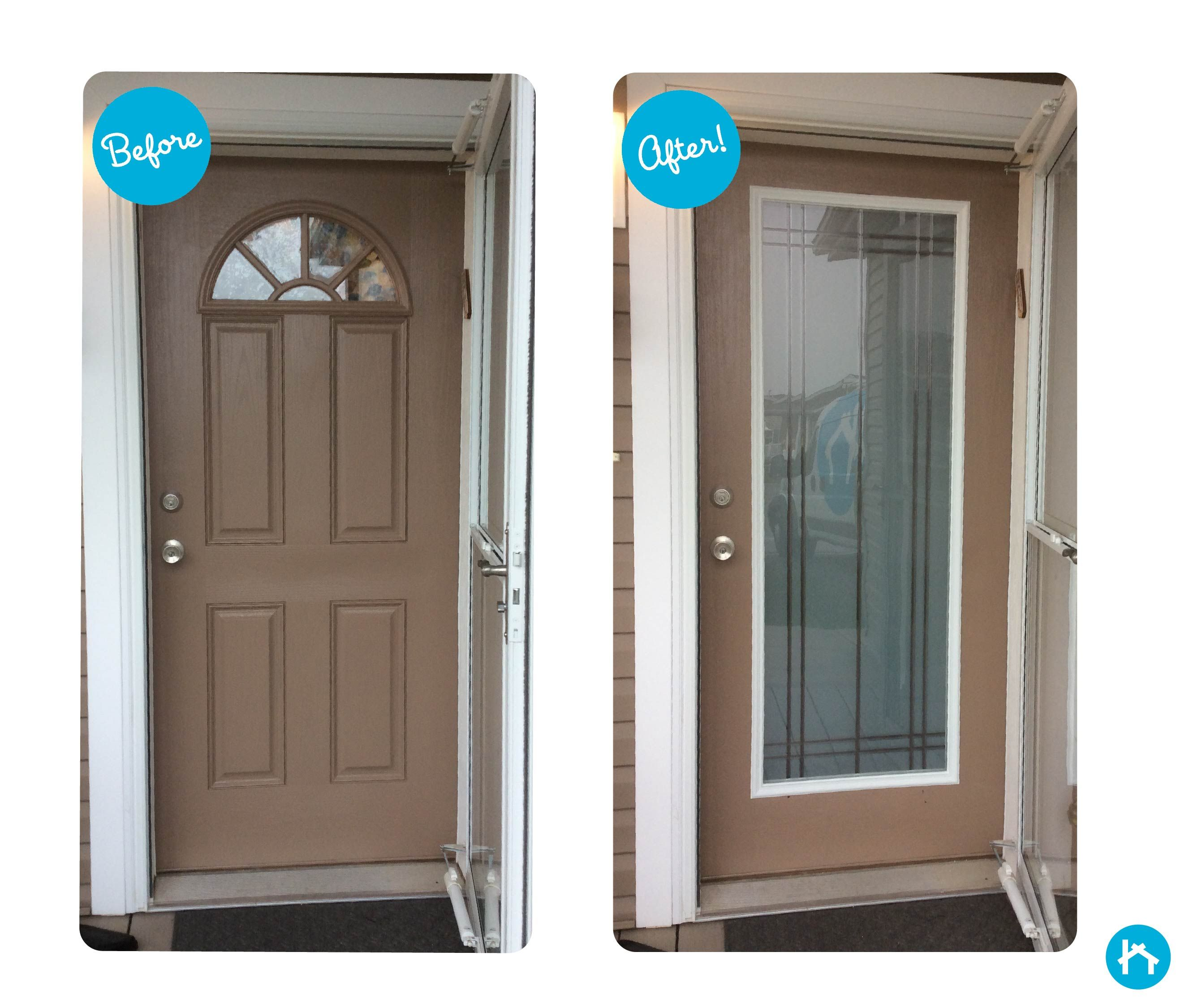 entry full doors steel glass image front cost panel cool replacement for wood door