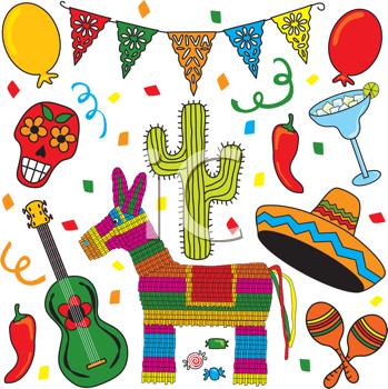 Iclipart Com Royalty Free Clipart Image Of Mexican Images Cultura De Mexico Manualidades Navidad Mexicana
