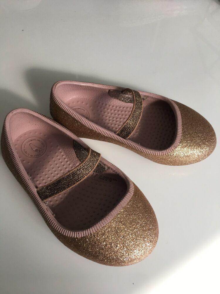 Native Margot Rose Bling Kids Shoes