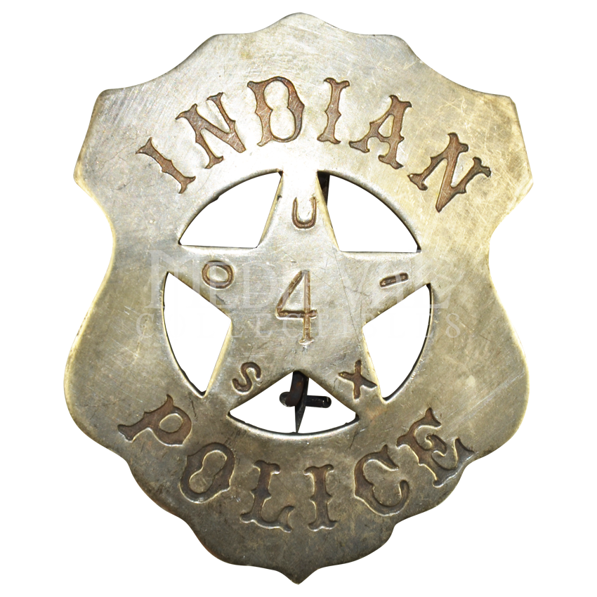 Sioux Indian Police Badge Santee Sioux Sioux Police Badge