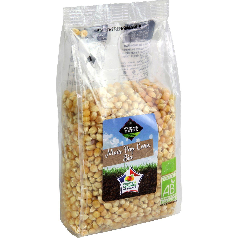 Maïs Pop Corn Bio Ferme De La Motte Le Paquet De 500g à Prix Carrefour Pop Corn Pop Bio