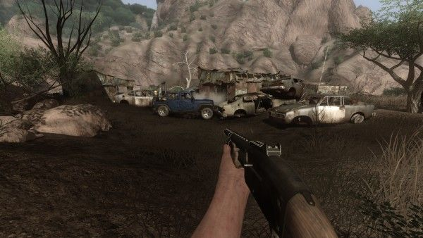 Far Cry 2 Hud Fades In When You Need It Out When You Don T