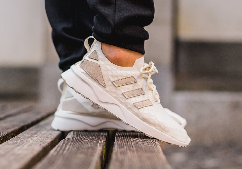adidas zx flux adv mens trainers khaki