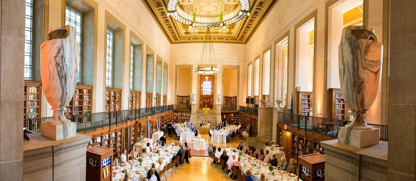 Indianapolis Public Library Ritz Charles Caterers Wedding Venues Central