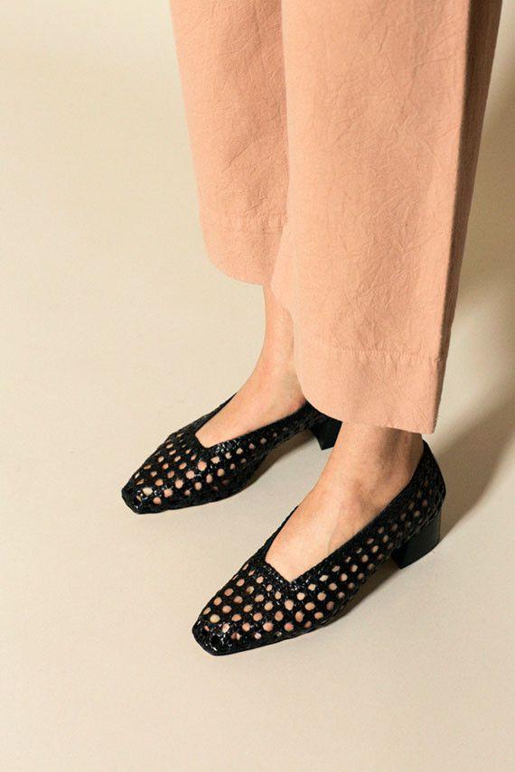 16bb93f2b529 Miista - Black Taissa Woven Pump   BONA DRAG   style   Fashion ...