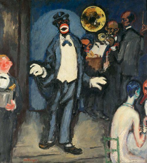 Kees van Dongen, Nightclub: The Singer Johnny Hudgins, 1927