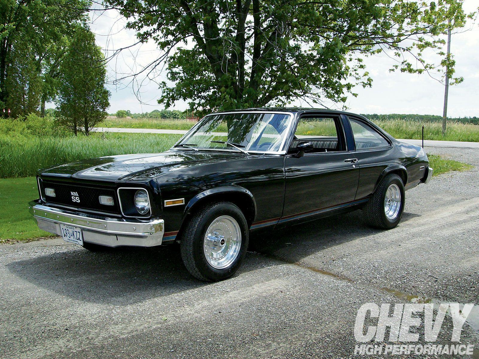 1975 Chevy Nova Chevrolet Nova Pinterest