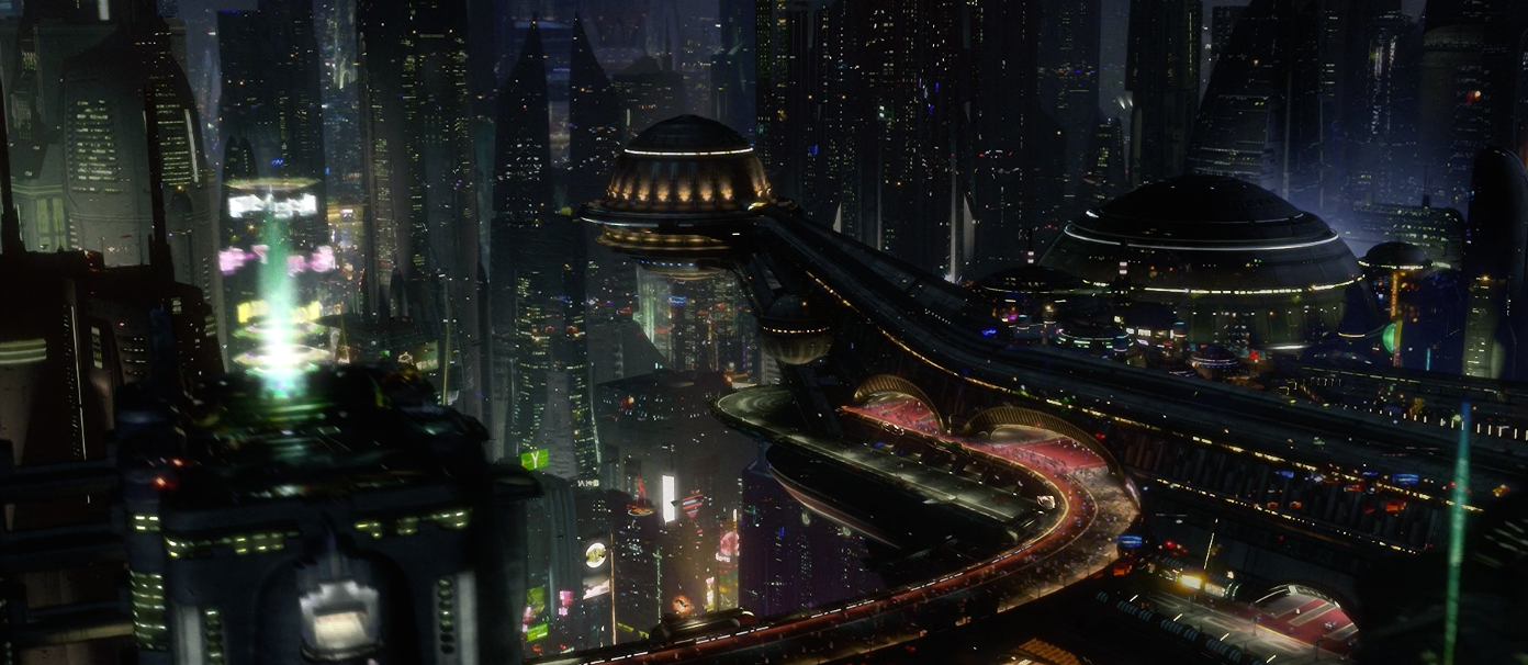 The Cinema Behind Star Wars Blade Runner Starwars Com Star Wars Wallpaper Futuristic City City Wallpaper