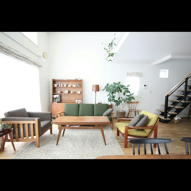 hisashiさんの、TRUCK,ボーエモーエンセン,北欧,デザイナーズ,グリーンのある暮らし,北欧インテリア,Overview,のお部屋写真