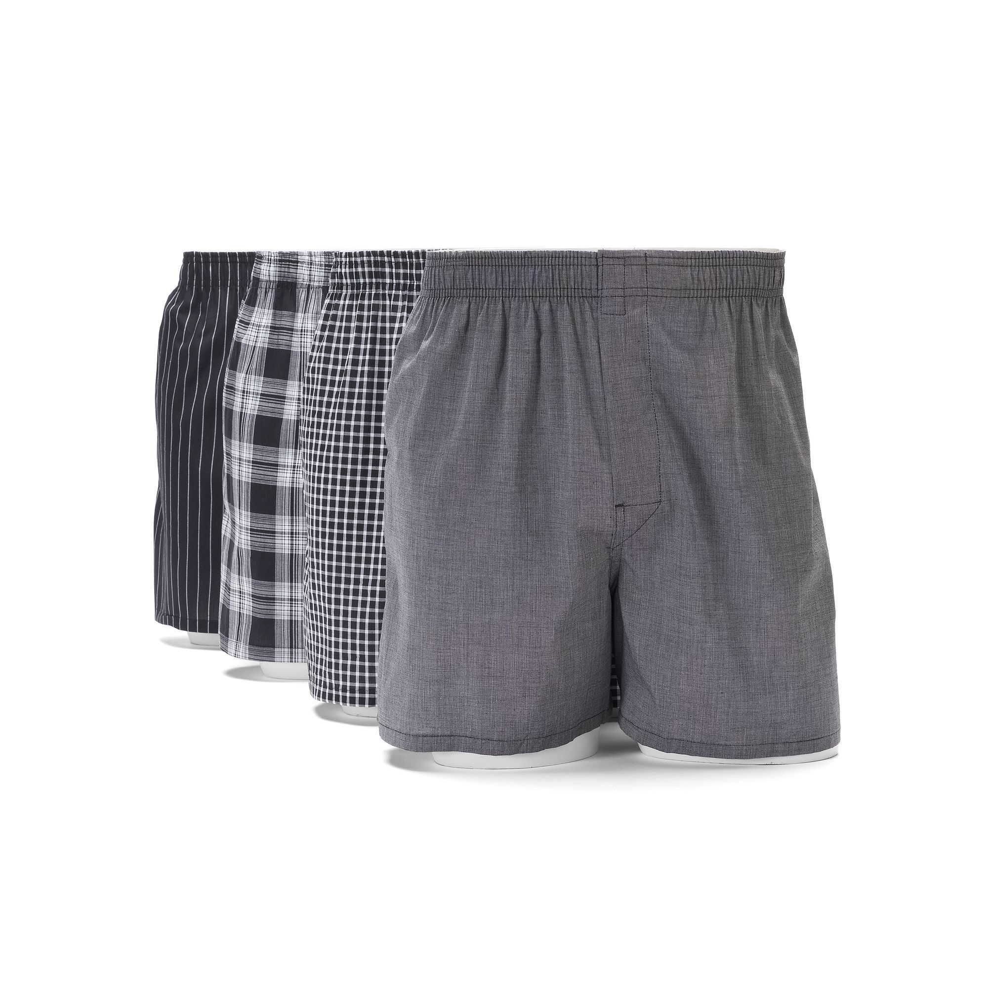 a0e48d53d25e Gildan Men's 4-pack Platinum Boxers | Products | How to wear, Boxer ...