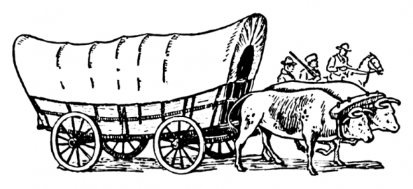 Free Printable Western Coloring Pages And Sheets For Kids And Adults Covered Wagon Oregon Trail Oregon Trail Covered Wagon