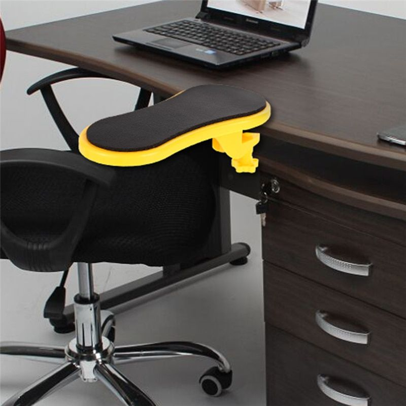Attachable Armrest Pad Desk Computer Table Arm Support Mouse Pads Arm In 2020 Arm Rest Chair Pads Computer Table