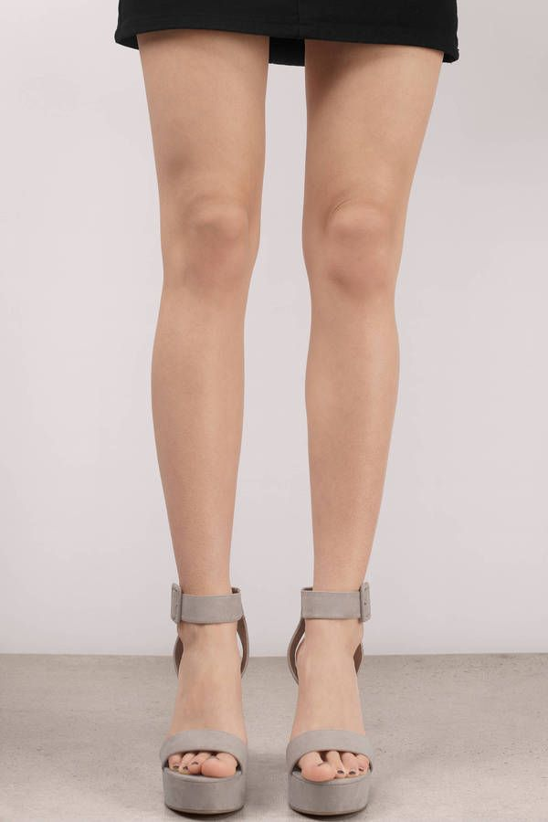 ddc1c7cb579  span class  item-color-name  Girl Crush Taupe Suede Platform Heels  span