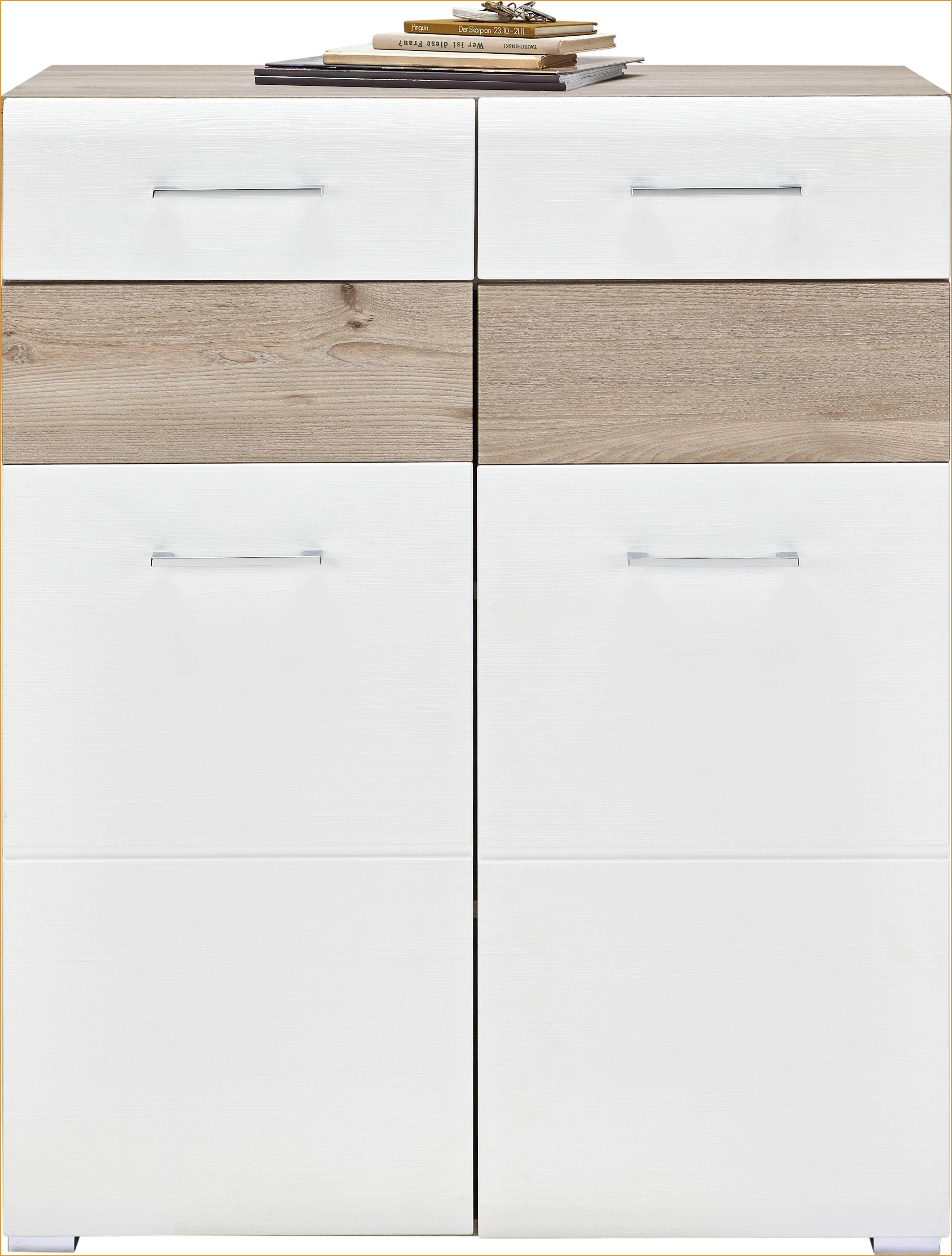 Premium Living Schuhschrank Weiss Silbereichenfarben
