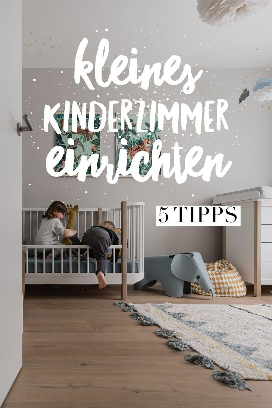 5 Tipps, um ein kleines Kinderzimmer einzurichten   Kleines ...