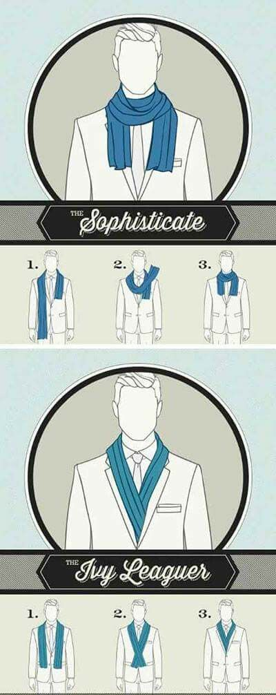 Gentleman's Guide to Wear a Scarf - 2
