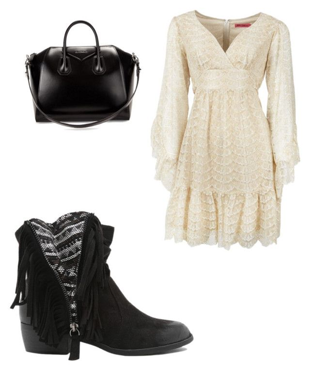 """""""Untitled #3100"""" by ohnadine on Polyvore featuring Qupid, Betsey Johnson, Givenchy, women's clothing, women, female, woman, misses and juniors"""